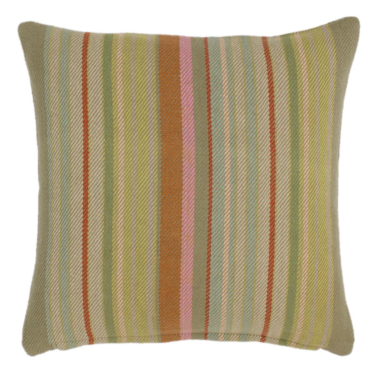 Stone Soup Woven Cotton Decorative Pillow