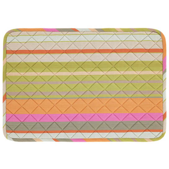 Stone Soup Stripe Quilted Placemat