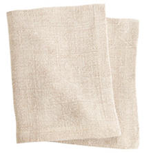 Stone Washed Linen Natural Napkin Set