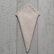 Stone Washed Linen Fringe Napkin/Set Of 4