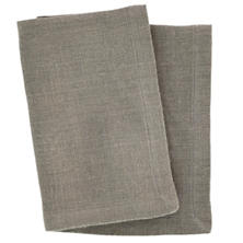 Stone Washed Linen Shale Napkin Set