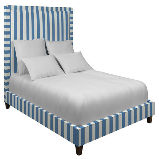 Alex French Blue Stonington Bed