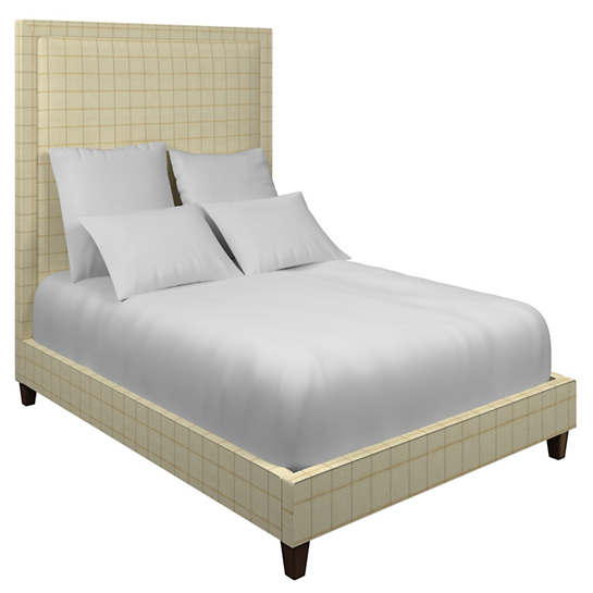 Chatham Tattersall Gold/Natural Stonington Bed