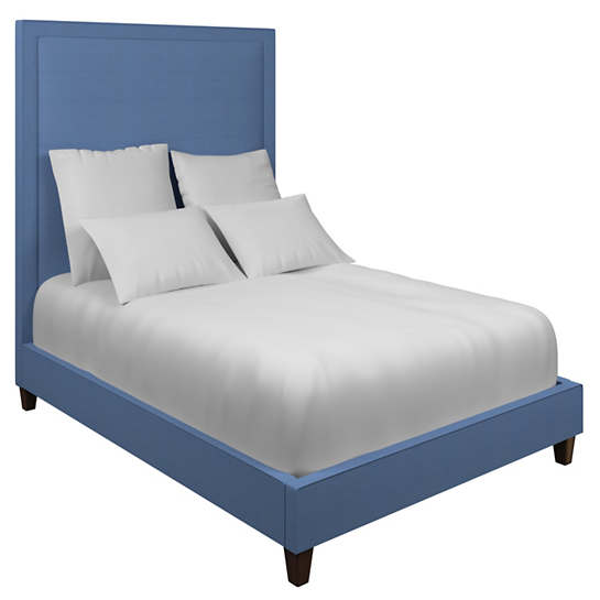 Estate Linen French Blue Stonington Bed