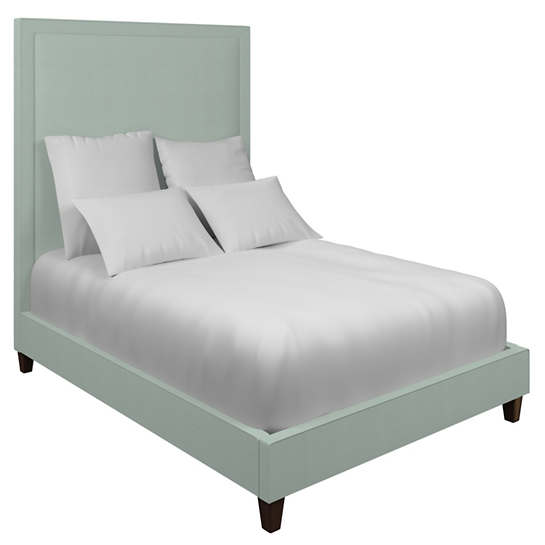 Estate Linen Powder Blue Stonington Bed