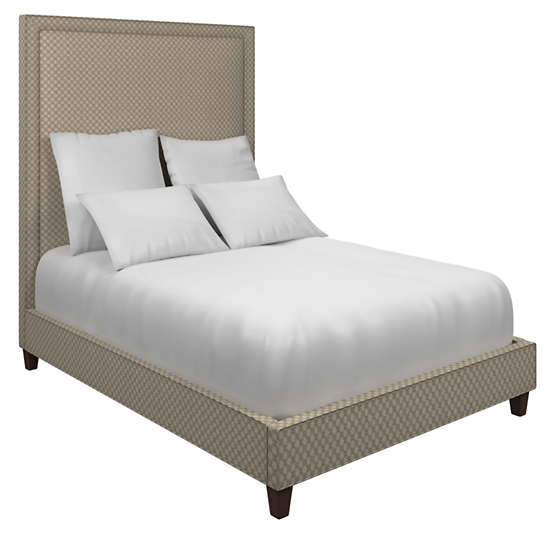 Sophie Embroidery Grey Stonington Bed