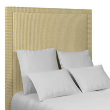 Adams Ticking Gold Stonington Headboard