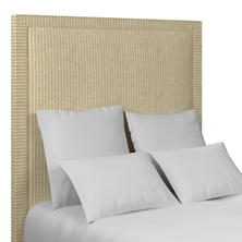 Adams Ticking Natural Stonington Headboard