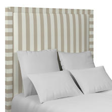 Alex Pearl Grey Stonington Headboard