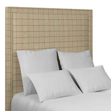 Chatham Tattersall Brick/Brown Stonington Headboard