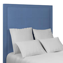 Estate Linen French Blue Stonington Headboard