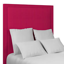 Estate Linen Fuchsia Stonington Headboard