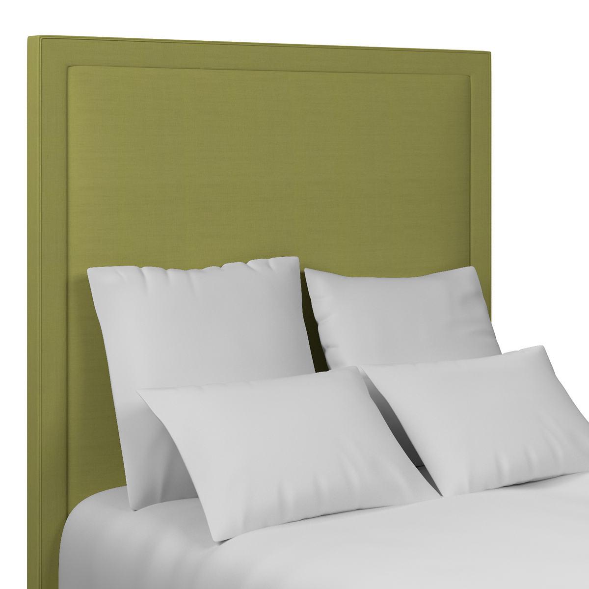 Estate Linen Green Stonington Headboard