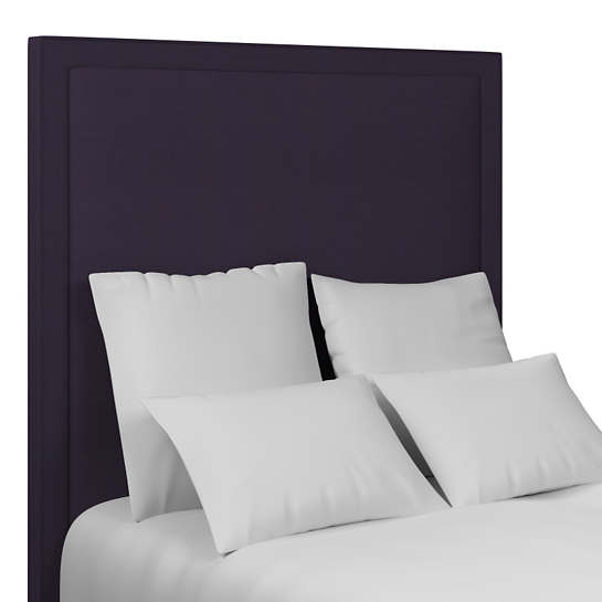 Estate Linen Indigo Stonington Headboard