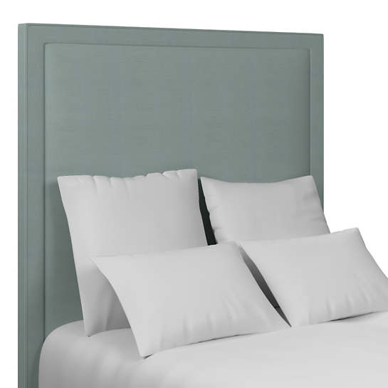 Estate Linen Sky Stonington Headboard