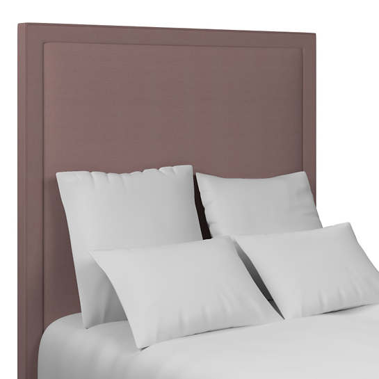 Estate Linen Zinc Stonington Headboard