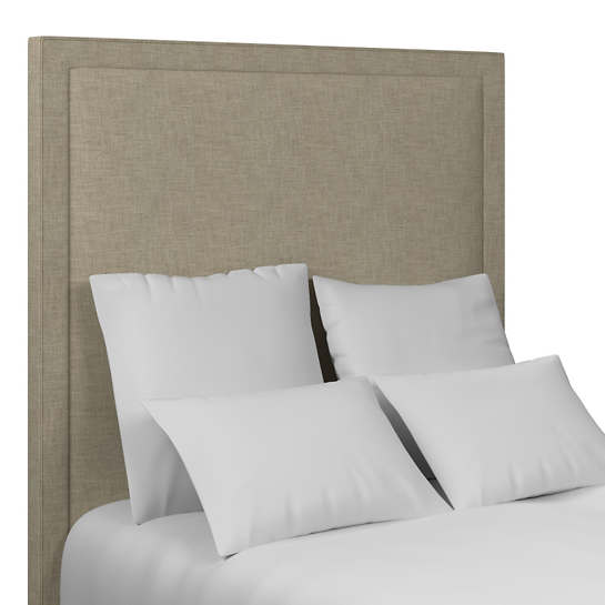 Greylock Grey Stonington Headboard