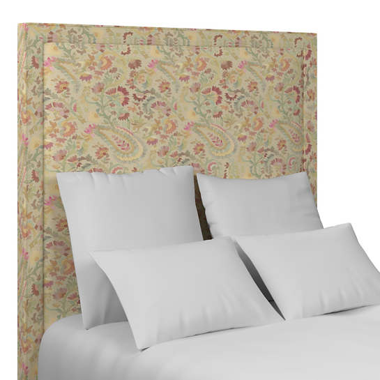 Ines Linen Stonington Headboard Full