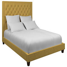 Greylock Gold Stonington Tufted Bed