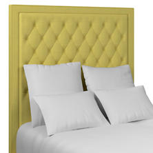 Estate Linen Citrus Stonington Tufted Headboard