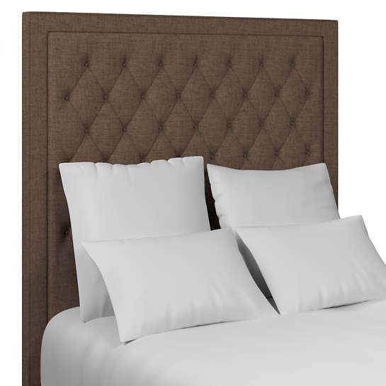 Greylock Brown Stonington Tufted Headboard