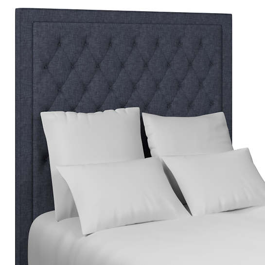 Greylock Navy Stonington Tufted Headboard