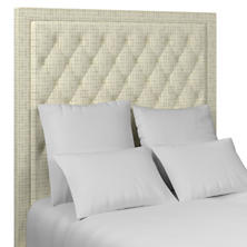 Nicholson Grey Stonington Tufted Headboard
