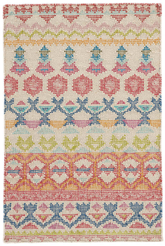 Stony Brook Multi Loom Knotted Cotton Rug
