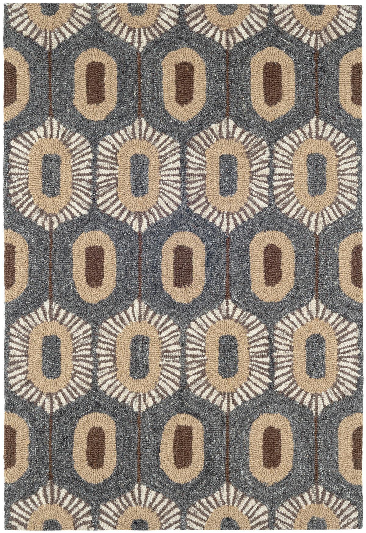 Stowe  Micro Hooked Wool Rug