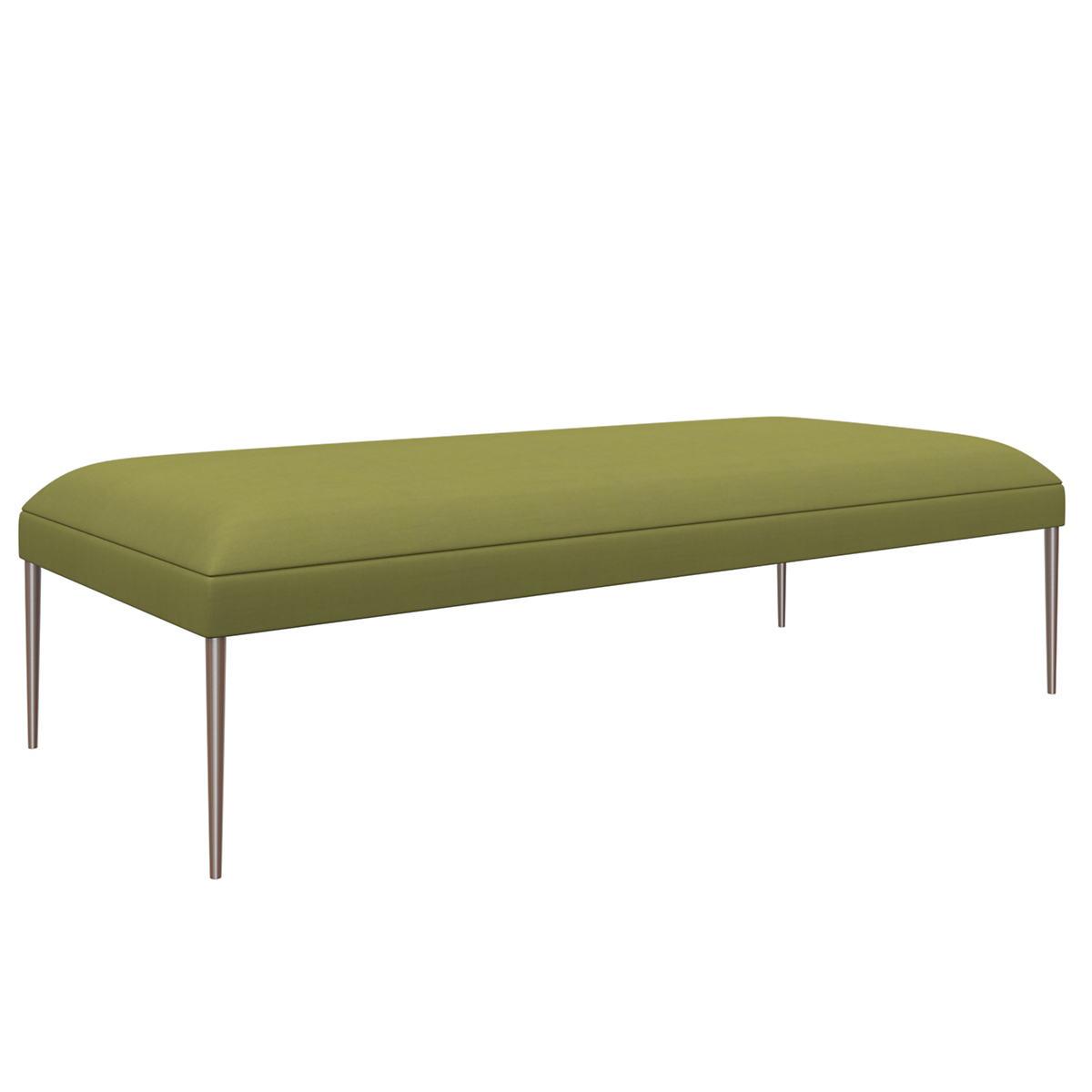 Estate Linen Green Swanson Bench