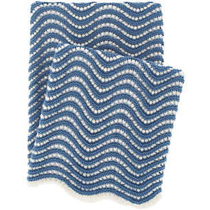 Knit Throws – Solid & Stripe Throw Blankets | Pine Cone Hill