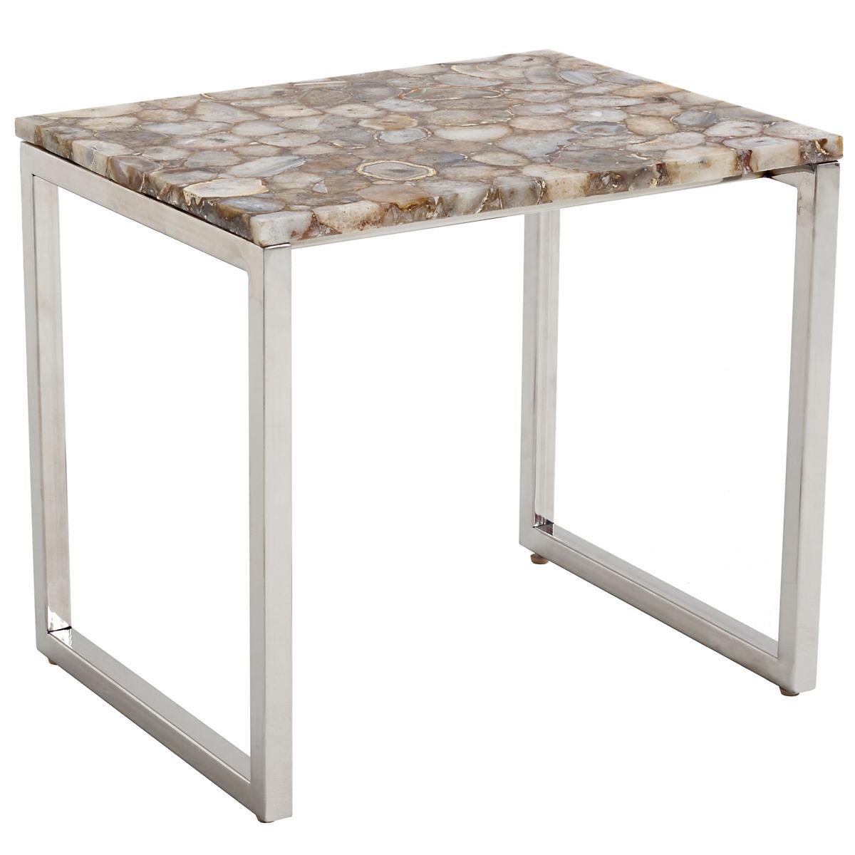 Quartz Geode Table