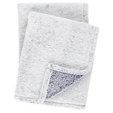 Heathered Fleece Blue Throw