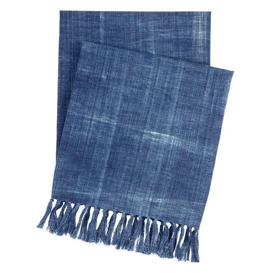 Santa Monica Indigo Throw