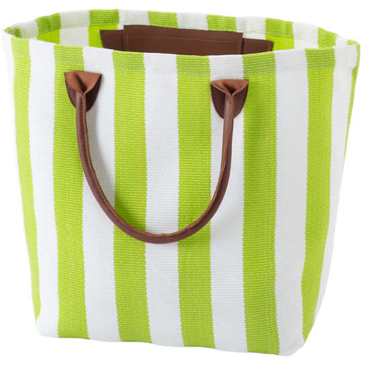 Trimaran Stripe Apple/White Tote Bag