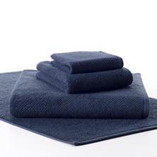 Pin Dot Terry Blue Towel