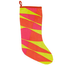 Taffy Quilted  Stocking