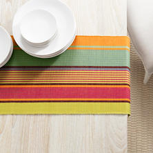 Tahiti Stripe Table Runner