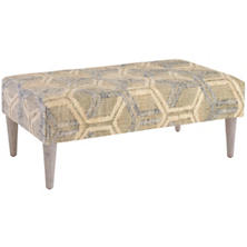 Tala Tapered Cerused Oak Leg Rug Ottoman