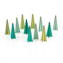 Tannenbaum Assorted Green Trees