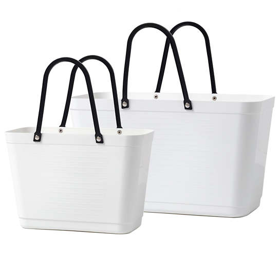 The Everything White Tote