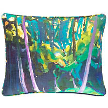 Through The Trees Indoor/Outdoor Decorative Pillow