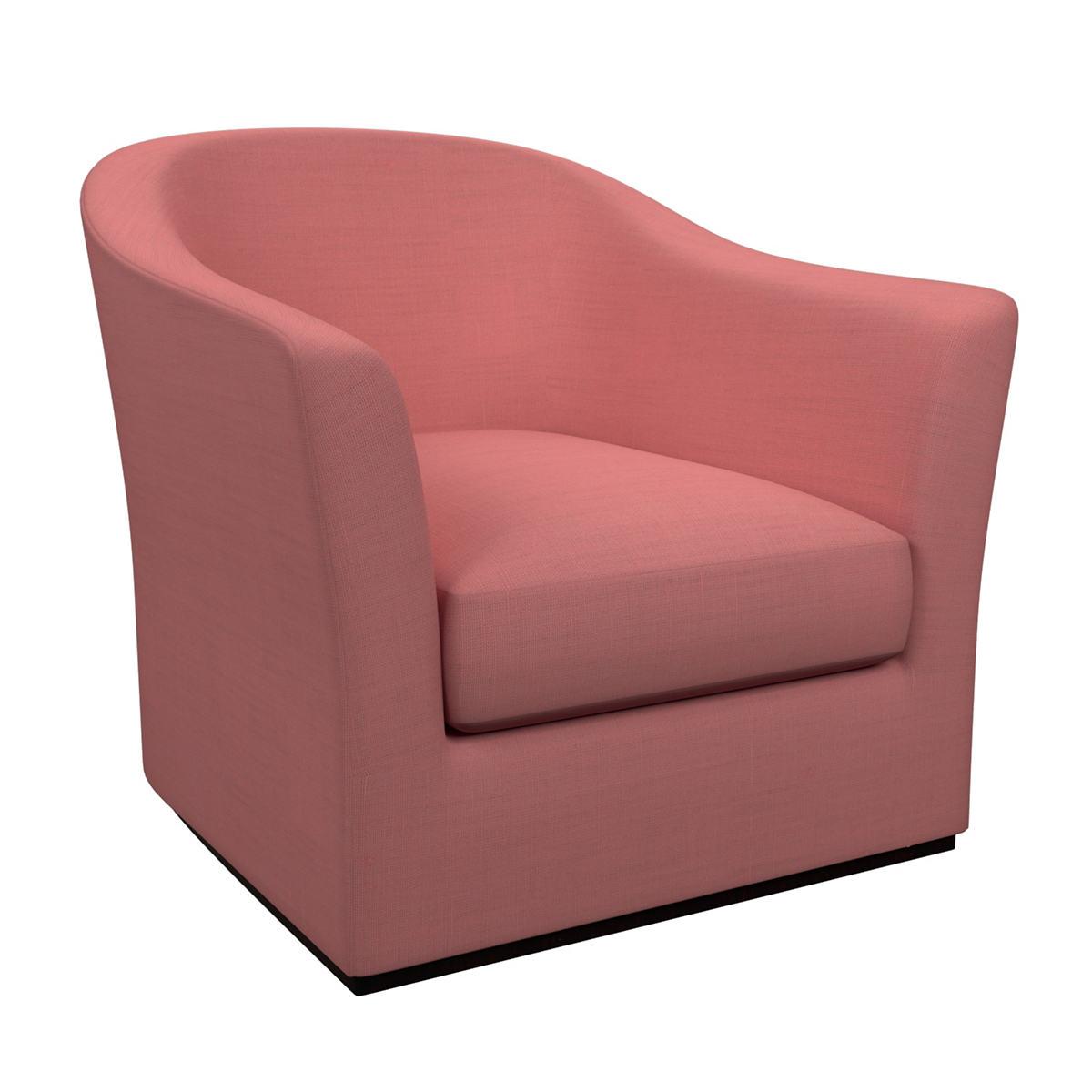 Estate Linen Coral Thunderbird Chair