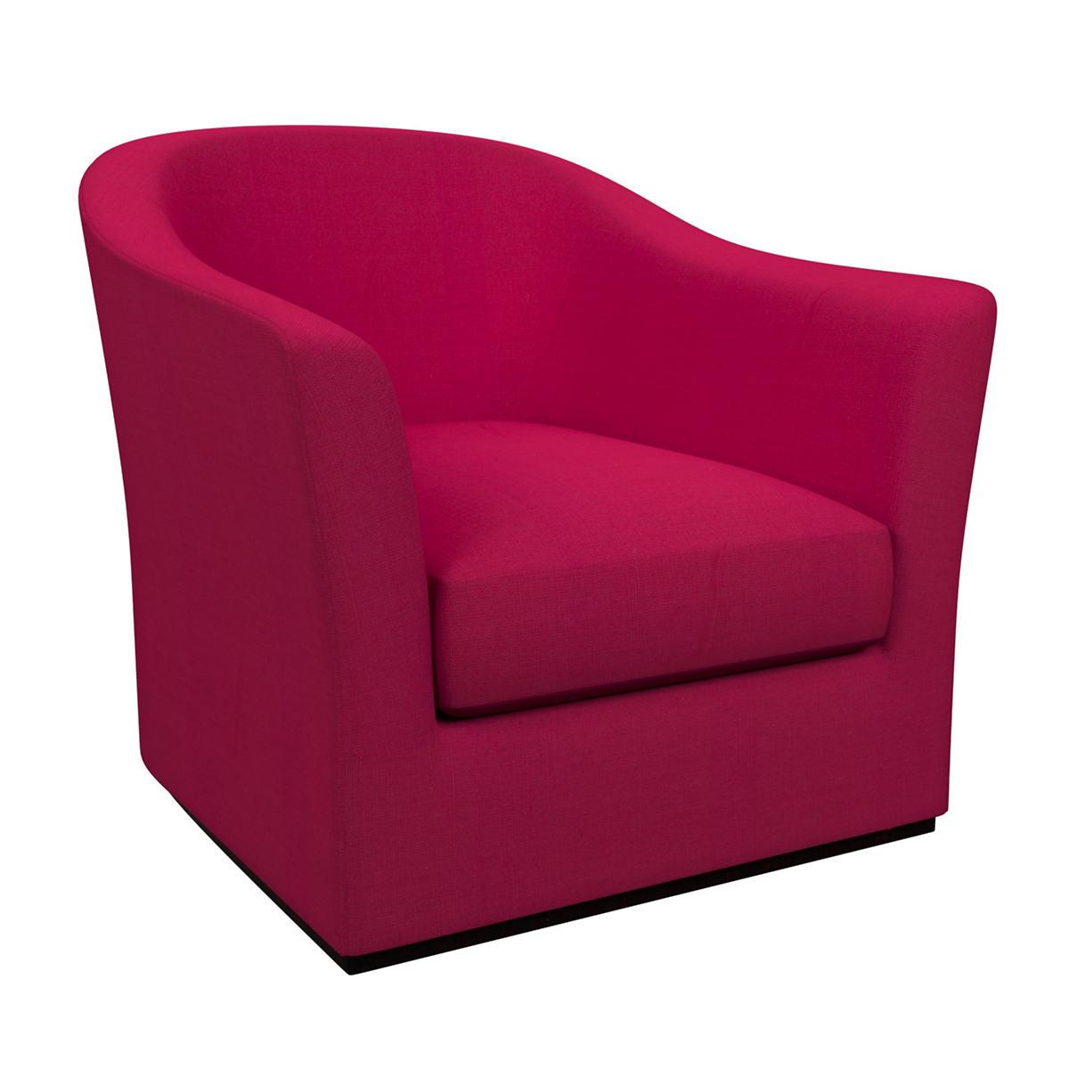 Estate Linen Fuchsia Thunderbird Chair
