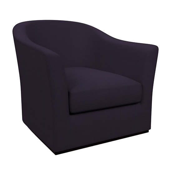 Estate Linen Indigo Thunderbird Chair