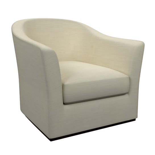 Estate Linen Ivory Thunderbird Chair