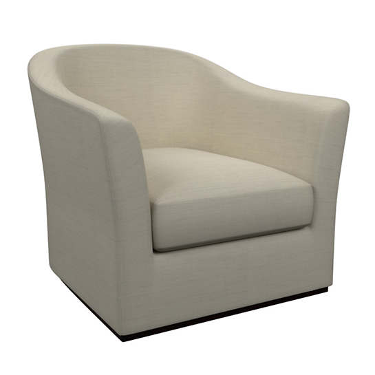 Estate Linen Pearl Grey Thunderbird Chair