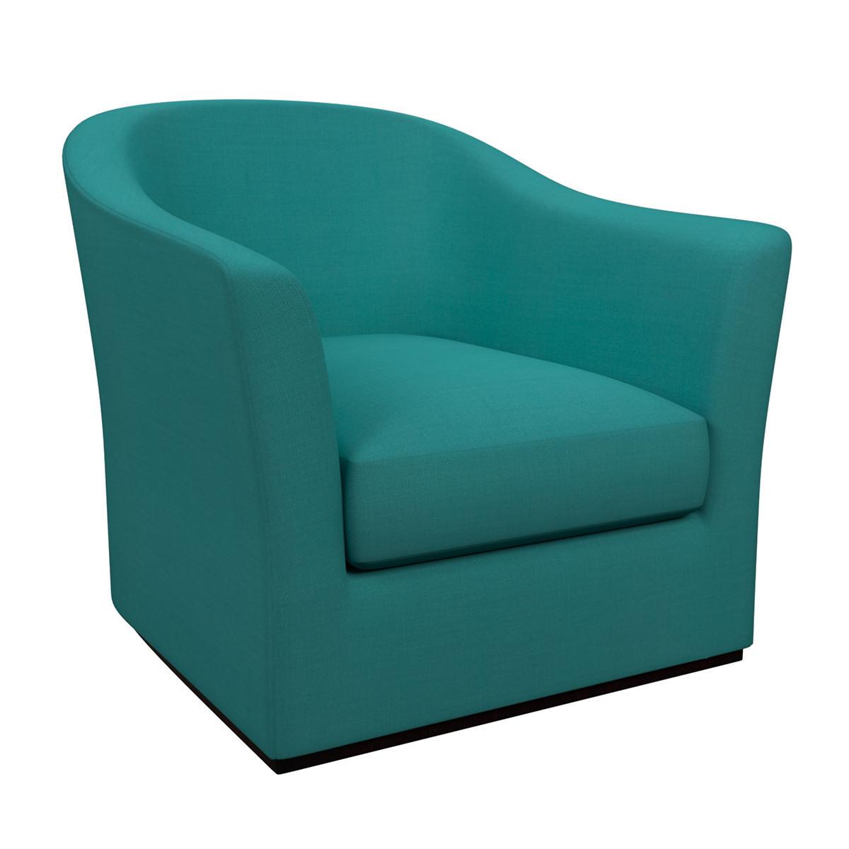 Estate Linen Turquoise Thunderbird Chair