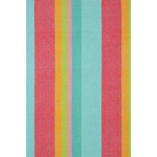 Tiki Stripe Woven Cotton Rug