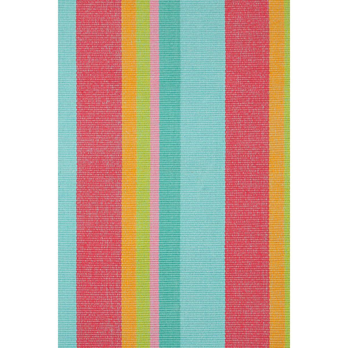 Tiki Stripe Woven Cotton Rug | Dash & Albert